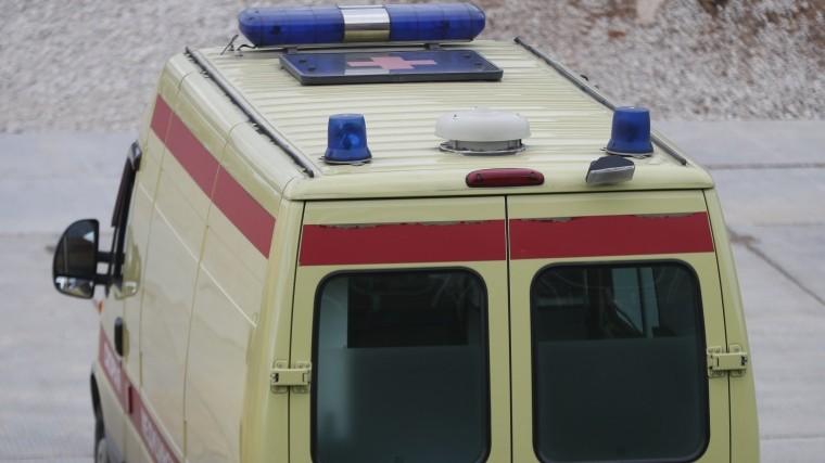 Автомобиль скорой помощи смедиками подвергся атаке вПодмосковье