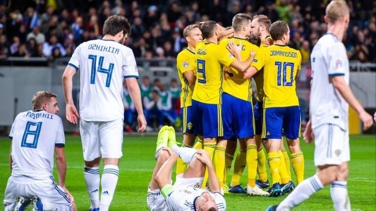 расстроены сборная россии прокомментировала итог матча швецией