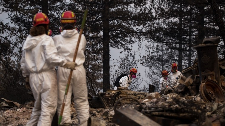 многих жителей калифорнии вовремя оповестили начале природных пожаров