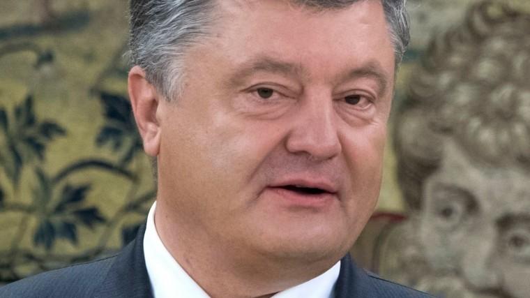 порошенко пугает народ высокой угрозой сухопутного вторжения российской