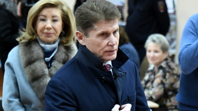 кожемяко серьезным отрывом лидирует выборах главы приморья