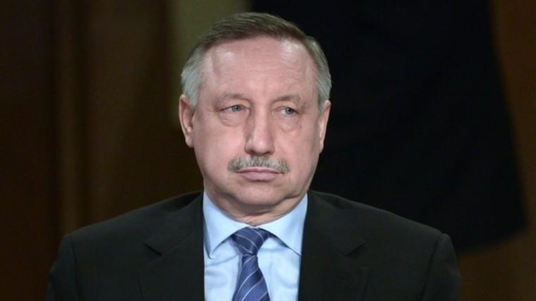 глава петербурга поручил выдать лопату беглова каждому главе