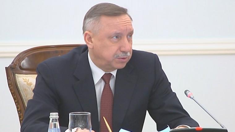 глава петербурга считает лопатой беглова проблемы городе решить