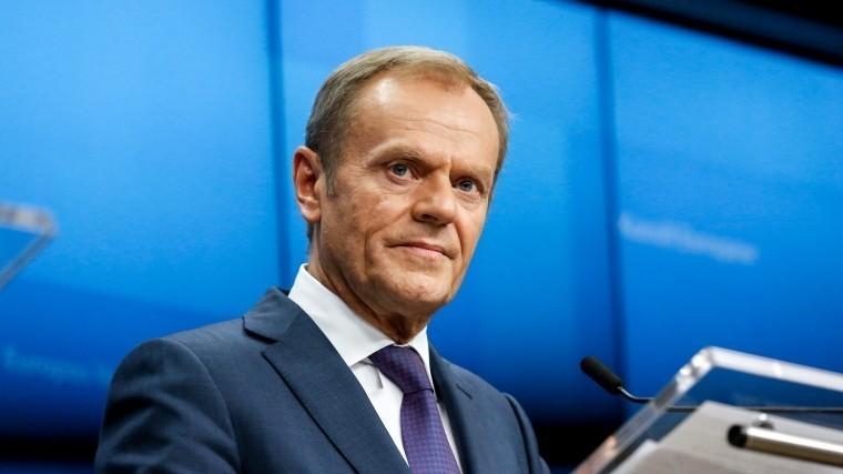 председатель евросовета туск принял участие акции памяти убитого