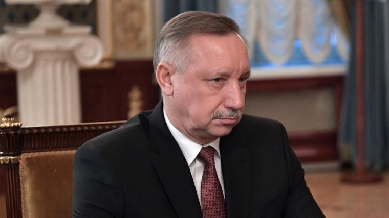 глава петербурга беглов освободил должности вице-губернаторов