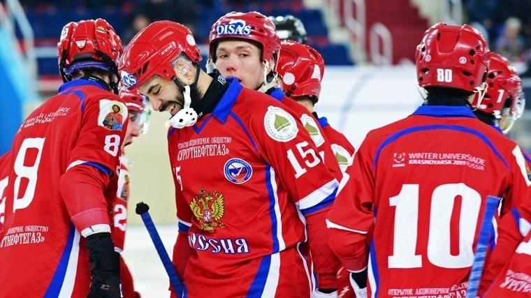 сборная россии стала 12-кратным чемпионом мира хоккею мячом