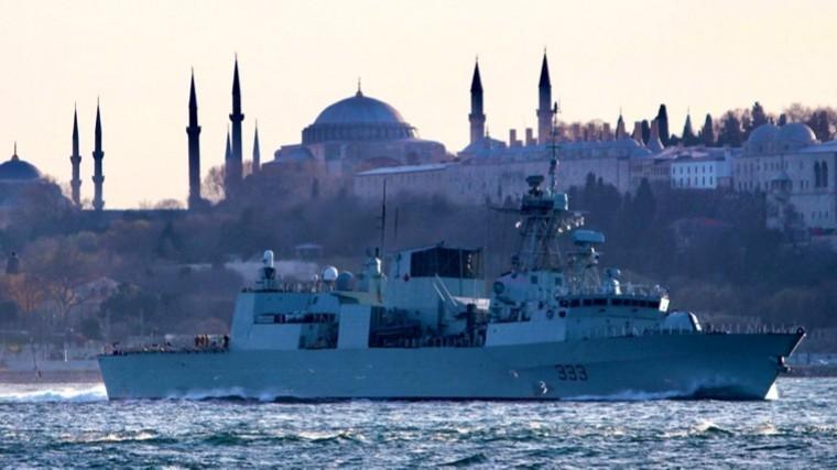 видео боевые корабли нато вошли черное море