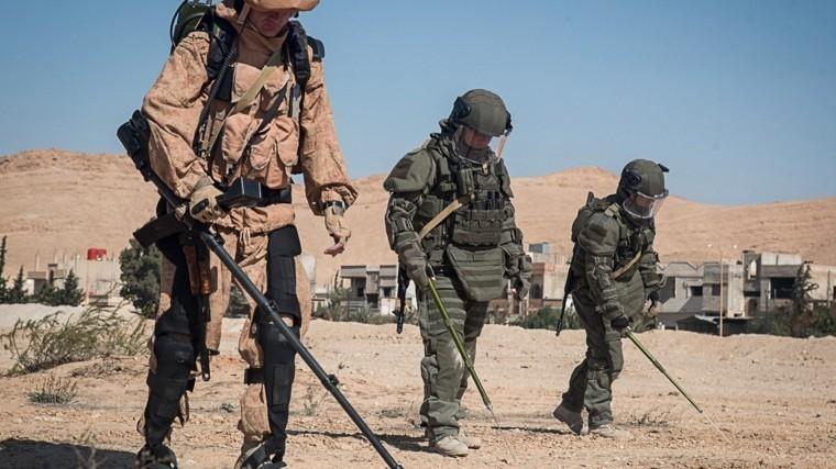 Видео: Российские военные зачищают Восточную Гуту отсмертельных ловушек
