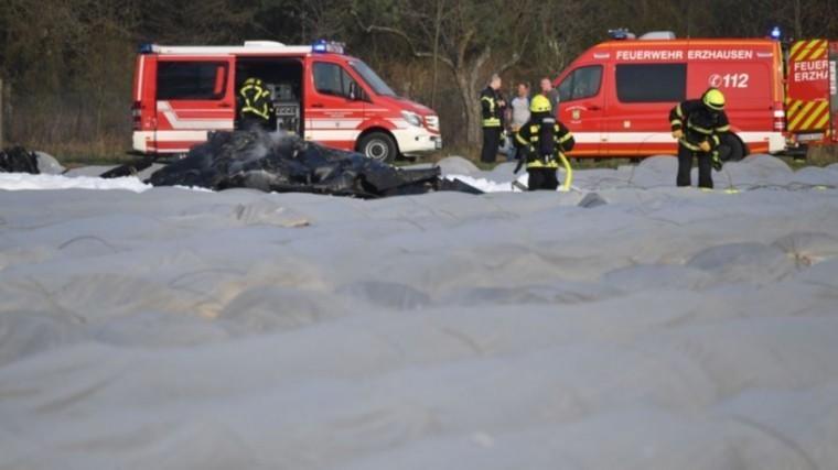 крушение самолета германии произошло возможной потери контроля повороте