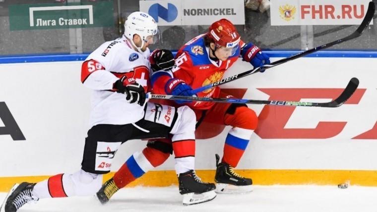 сборная россии обыграла швейцарцев матче еврочелленджа