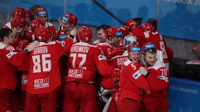 изв россии хоккею сборная
