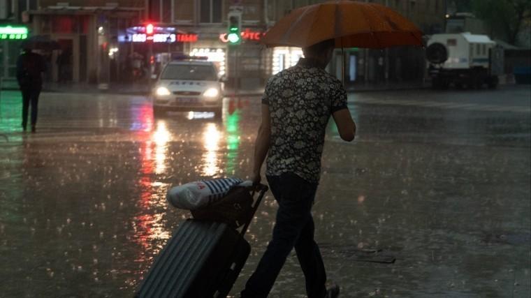 Ливень прошел, непогода осталась— вМоскве прогнозируют усиление ветра игрозу
