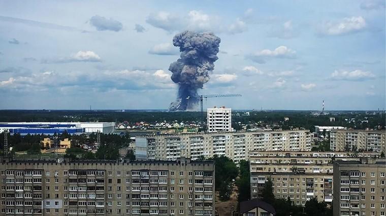 пострадали результате нижегородской заводе нав дзержинске области взрывов