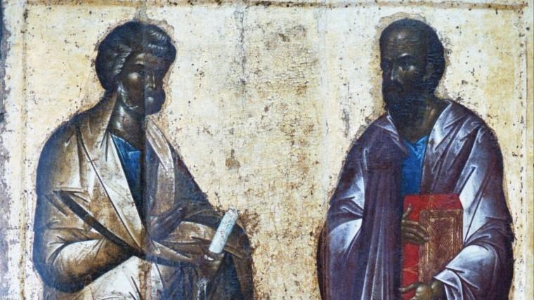 12июля отмечают Праздник Святых первоверховных апостолов Петра иПавла