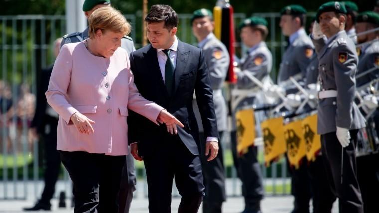 нев нав меркель зеленский нов вов германии отв
