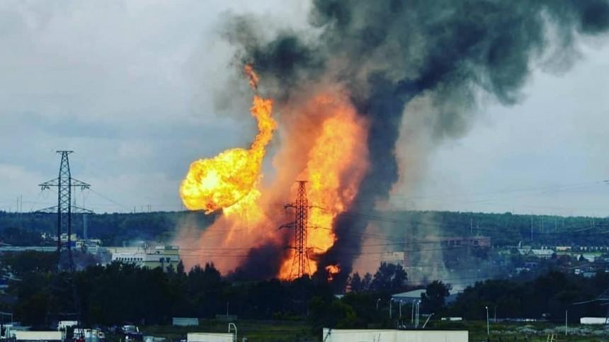 Названа предварительная причина страшного взрыва рядом сТЭЦ вМытищах