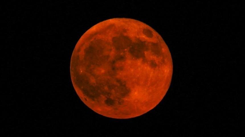 Где натерритории России можно увидеть последнее в2019 году лунное затмение