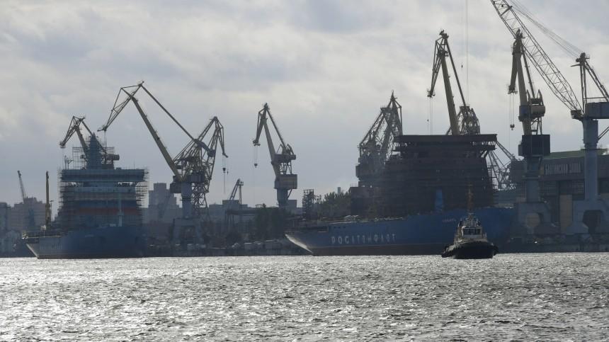 балтийском заводе петербурге произошел пожар