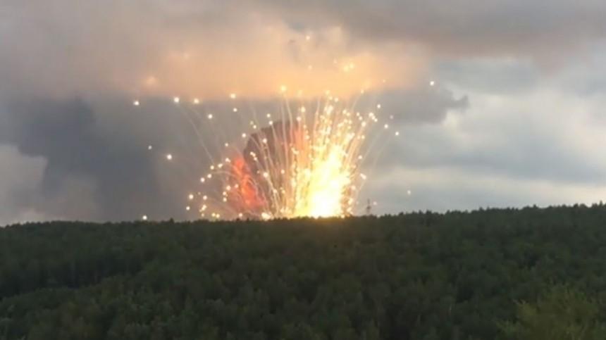 режим введен территории ачинского района взрывов боеприпасов