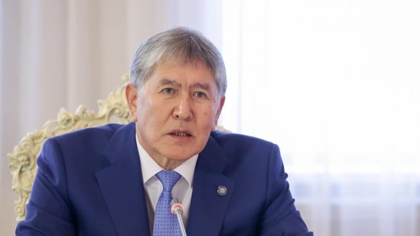 Алмазбеку Атамбаеву предъявили обвинение вубийстве идругих преступлениях