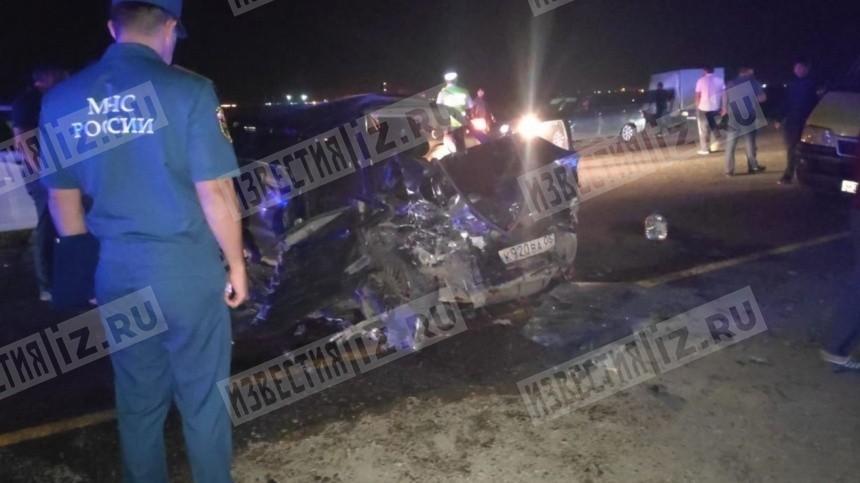 Фото: Жуткая авария вДагестане унесла жизни трех человек