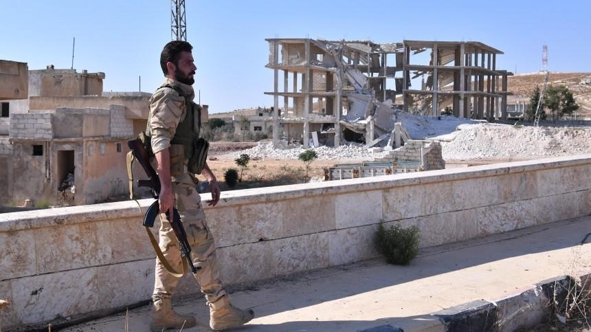 После восьми лет оккупации военные Сирии освободили город Хан-Шейхун