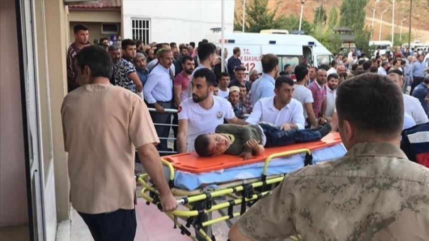 Десять человек погибли, еще семеро пострадали вДТП смикроавтобусом вТурции