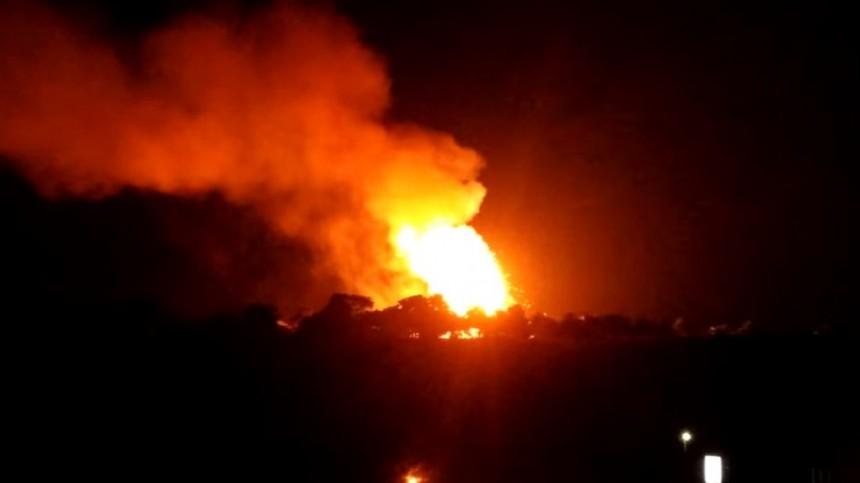 кипре загорелся взорвался склад боеприпасов пострадавшие