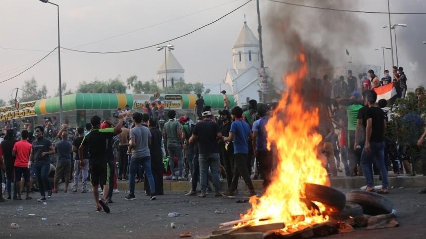 Комендантский час введен вБагдаде из-за протестов