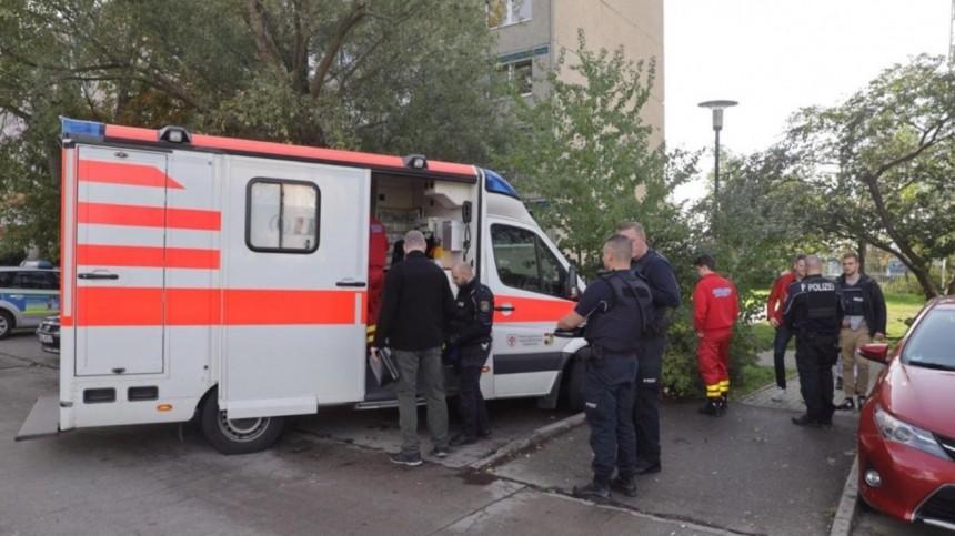 Неменее двух человек участвовали встрельбе усинагоги внемецком городе Галле