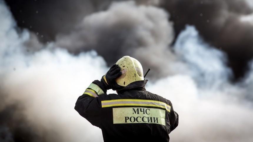 Пожару наскладе назападе Москвы присвоен повышенный ранг сложности