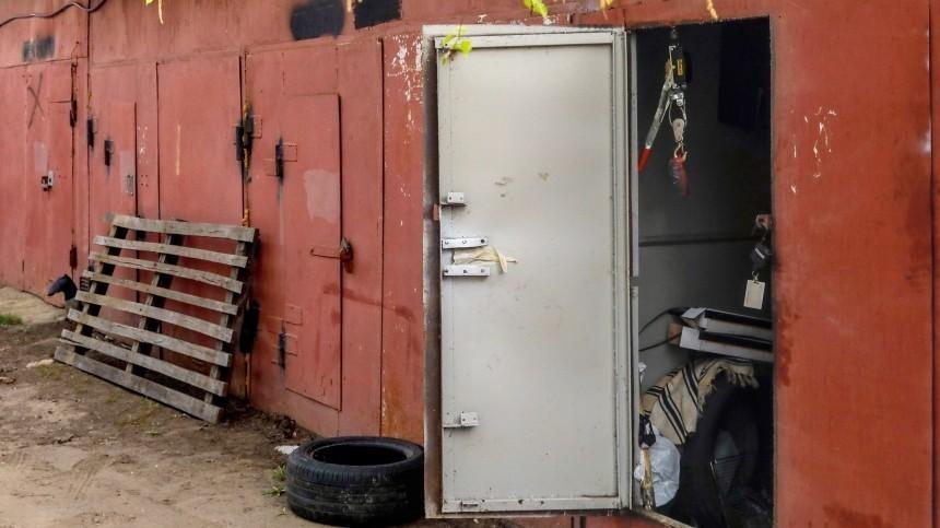 ВПетербурге владельцы гаражей взялись заавтоматы игранаты
