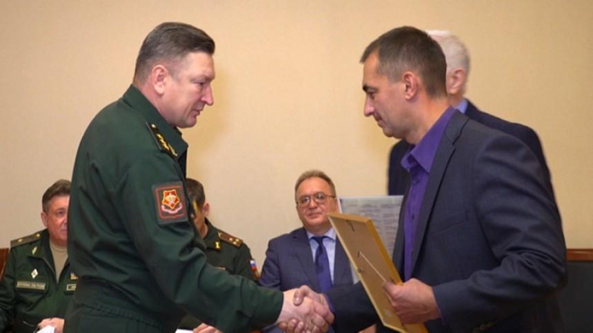 Командующий войсками ЦВО вручил документы кнаградам родственникам ветеранов ВОВ