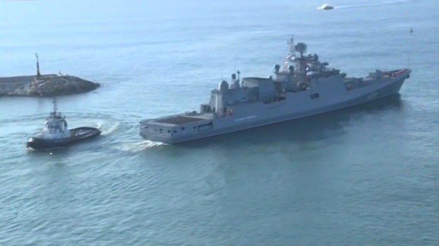 порту тартус прошли учения российских сирийских военных моряков