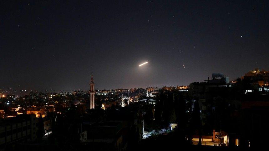 Сирийская ПВО отразила атаку Израиля наДамаск
