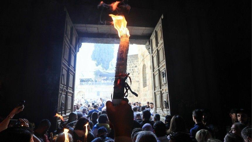 Храм Гроба Господня закрыли из-за коронавируса