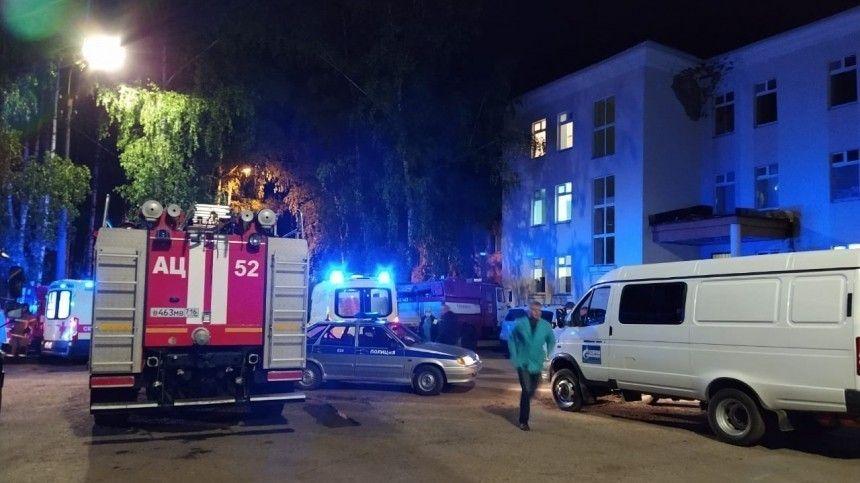 ВМЧС прокомментировали пожар вбольнице Зеленодольска, где погибли два человека