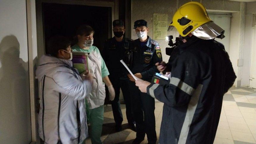 СКвозбудил уголовное дело пофакту пожара вбольнице Зеленодольска