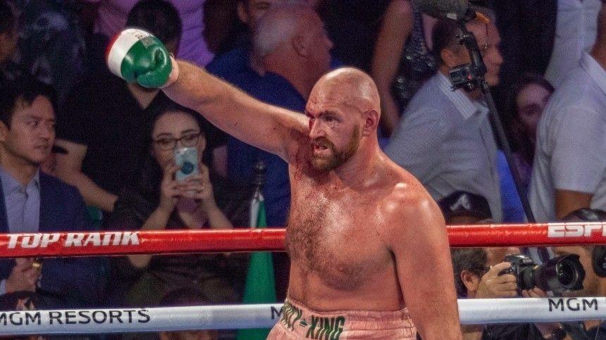 Энтони Джошуа хочет провести бой счемпионом WBC Тайсоном Фьюри