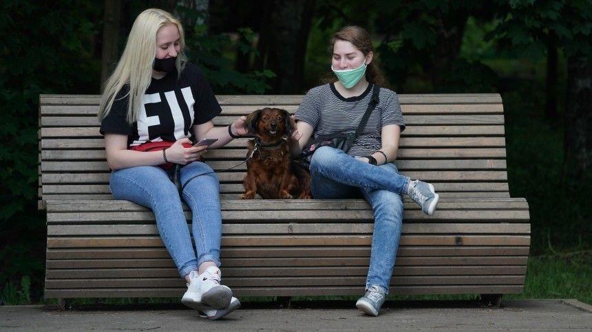 Число выявленных случаев COVID-19 замесяц вМоскве сократилось втри раза
