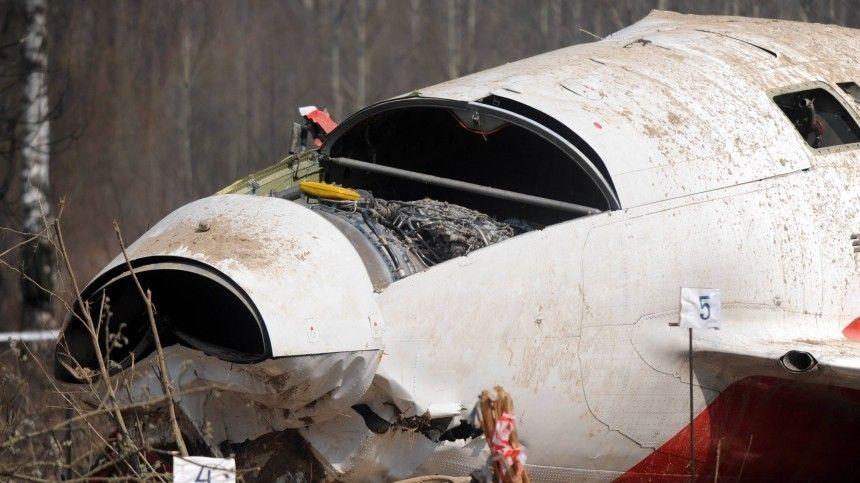 ВПольше заявили оновых деталях вделе окрушении Ту-154 под Смоленском