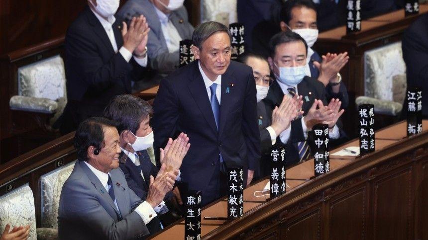 Владимир Путин поздравил Ёсихидэ Сугу сизбранием премьер-министром Японии