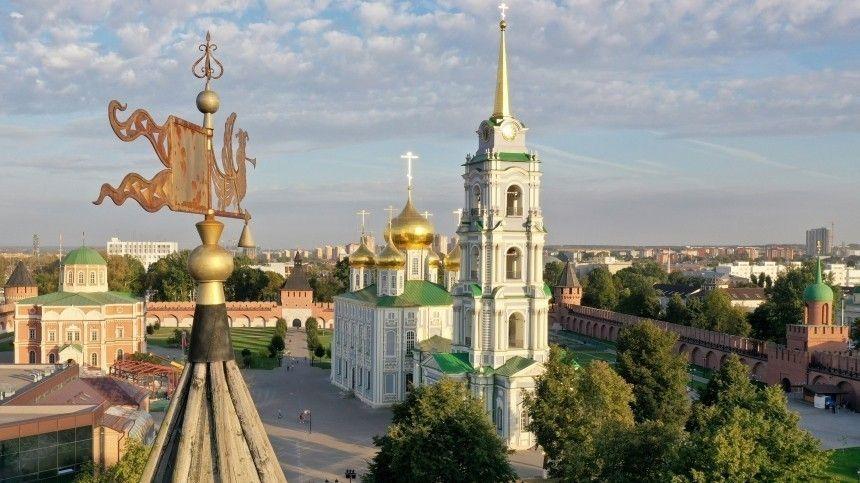 Владимир Путин назвал Тульский кремль шедевром русского зодчества