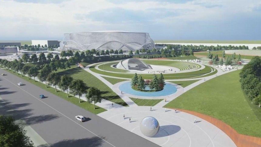 Как будет выглядеть новая СКА-Арена вПетербурге— видео