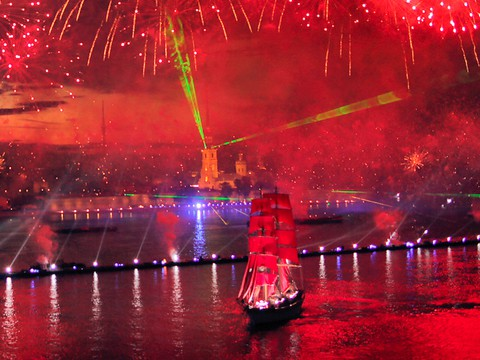Пятый канал представил концепцию праздника «Алые паруса 2016»