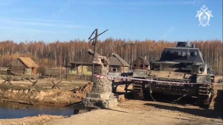 Каскадера раздавило танком на съемках фильма «Ильинские рубежи»