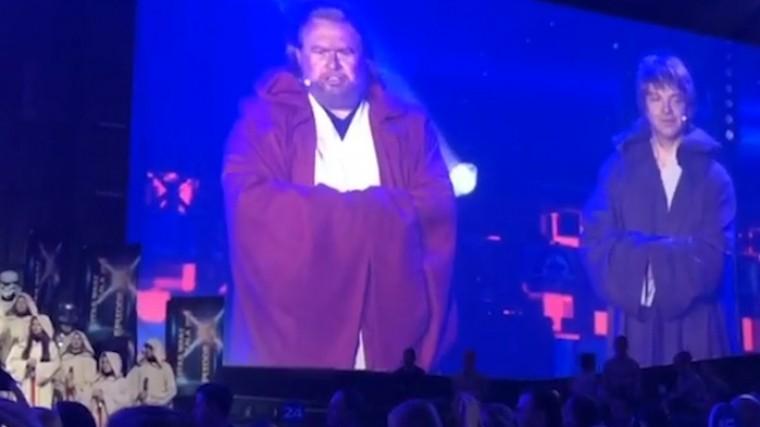 Видео: глава ВТБ обратился ктоп-менеджерам вкостюме джедая