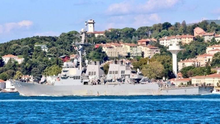 Стало известно опланах США отправить военные корабли вЧерное море