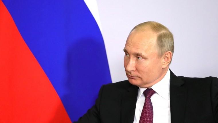 «Россия незаинтересована вновой гонке вооружений»— Путин овыходе США изДРСМД