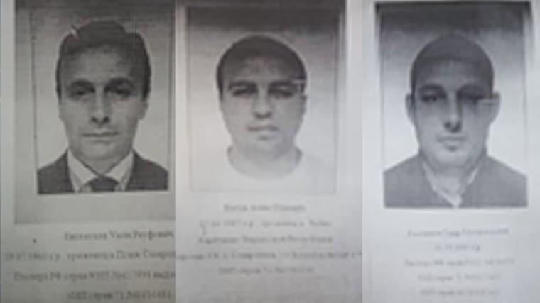 Трое человек объявлены врозыск поделу Арашуковых